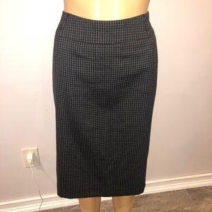 AK anne Klein black & gray skirt size 12p